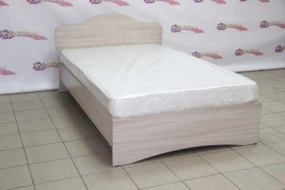 Кровать полутороспальная с матрасом цена